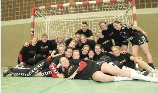 Die Mannschaft der Handball-Luchse