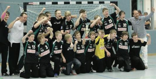 C-Jugend-Mannschaft